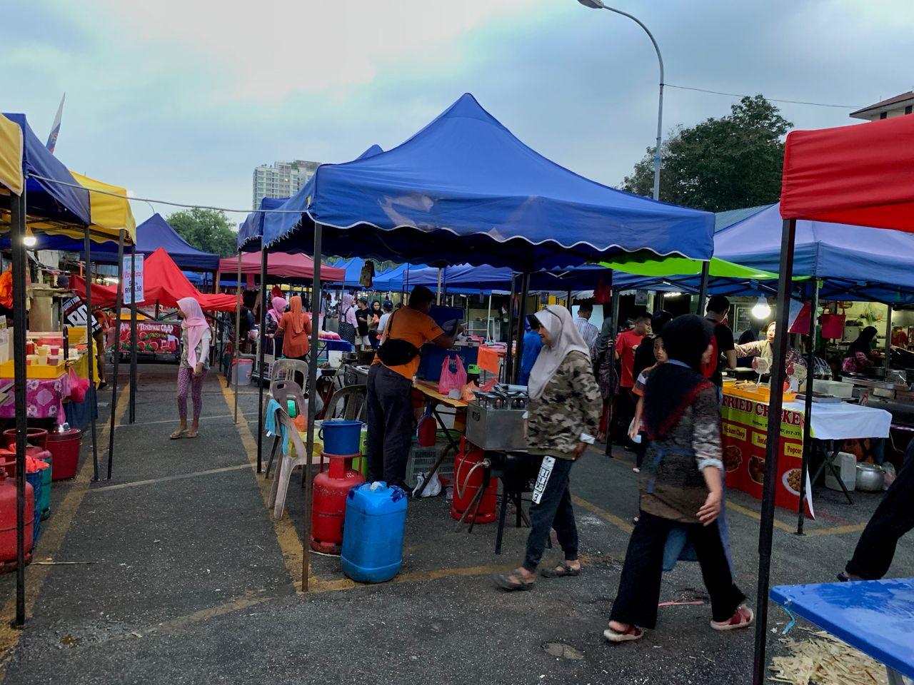 Colorful Ramadan Bazaar